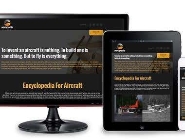 Aircraft Web Site