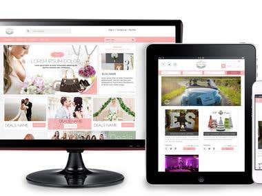 Deals Website Design