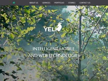 Yelk Website