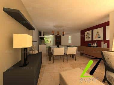 House in Peru Interior and exterior design