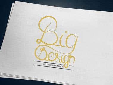 BigDesign | Interior Design Logo