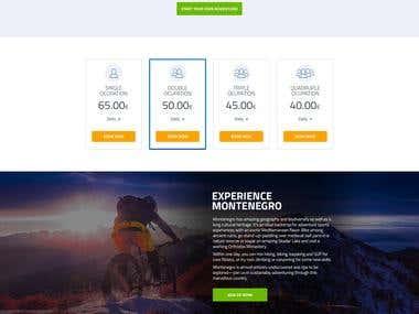 PlayWorking   website design
