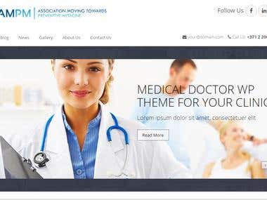 AM PM for medical website