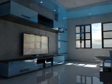 cinema 4d modeling and render