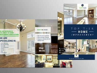 Bi-fold Brochure and Catalog Design