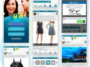 Social App (iOS/Android)