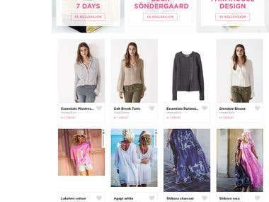 Tilini Online store
