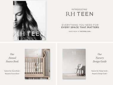 RH baby&child (eCommerce)