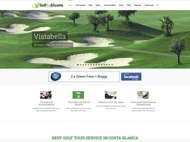 Golf4ualicante.com website