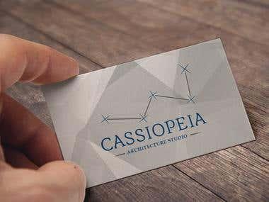 create logo architecture studio Cassiopeia