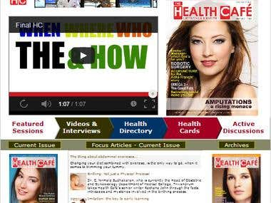 The Health Cafe' Magazine