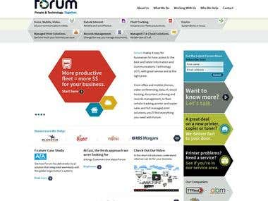 Forum Group Australia Website