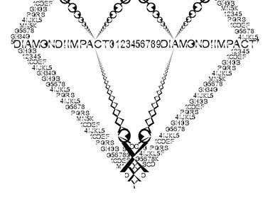 Diamond Impact Font