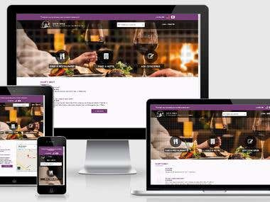 Japanese Hotel and Restaurant table booking