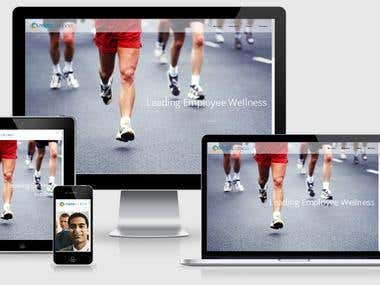 Health and Wellness corporate website