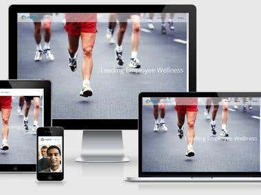 Health and Wellness corporate website