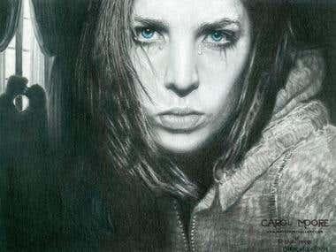 Broken Hearted Illustration Drawing