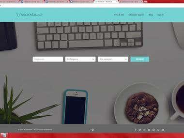 www.Workbud.net Job Portal Using Wordpress & woocommerce