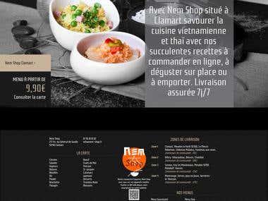 Restaurent Website