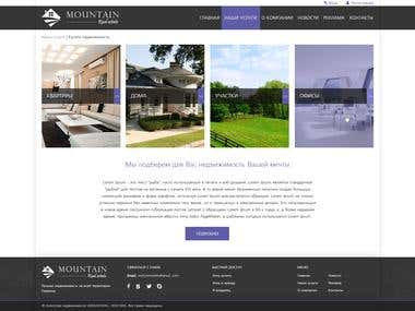 Responsive Website for real estate company
