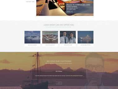 Design website for Sail Checker