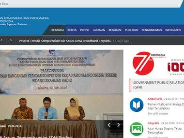 website kominfo