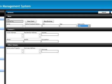 Construction Management System(Real State Solution)