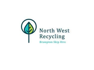 Logo for recycling company