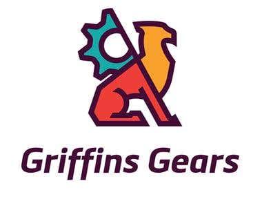 Griffins gears logo
