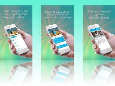 Promotional Graphics for App
