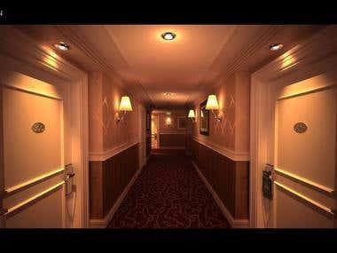 3D Visualization - The Corridor