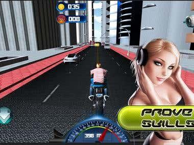 Street X Moto Racing