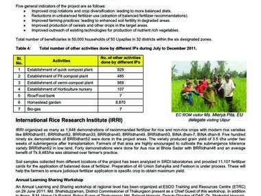 Data processing work sample