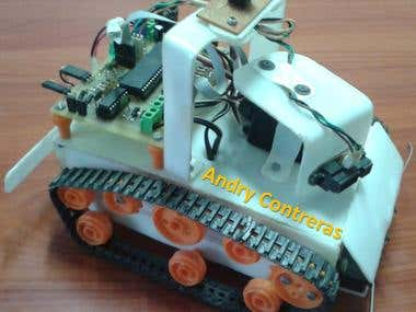 Navigation Robot Design and Construction