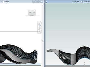 Diseño de Cubierta Parametrico
