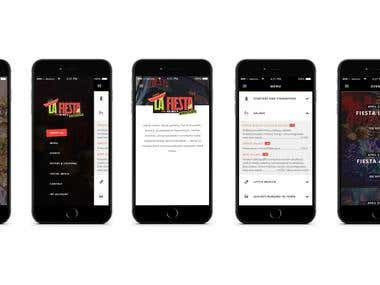 Night club Event app