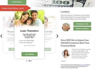 Online Loan Provider Website