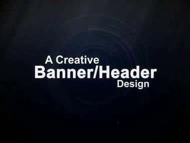 Banner or Header