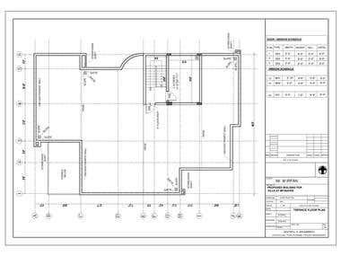 Villa's MEP, Architectural & Structural Design