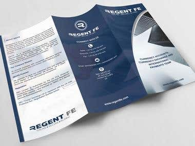 Business Exchange Trifold Brochure