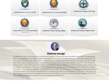 School Management Website Development