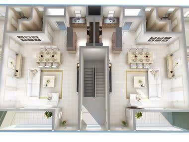 Apartment building/ Mauritius