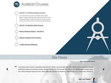 Autoparts - Business website