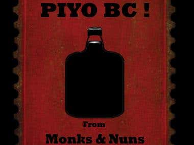 Old Monk Poster