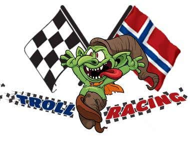 Logo for Troll Racing