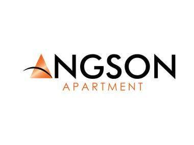 Logo for 'Angson Apartment'