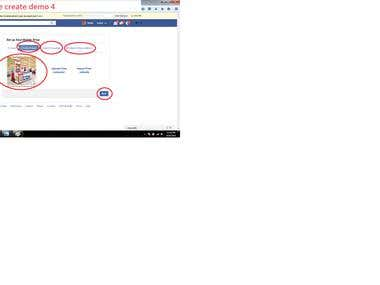 Facebook Fan page create demo 115