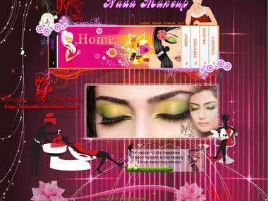 web site (nada makeup)