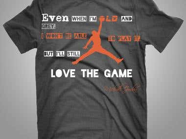 T-shirts for Air Jordan Series