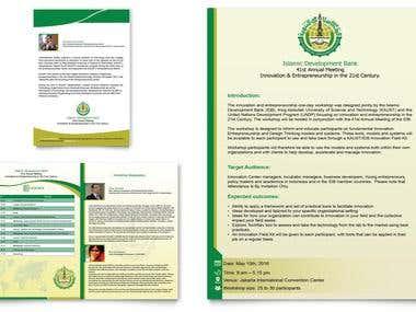 Design a 4-page A5 Brochure